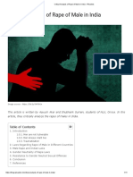 Critical Analysis of Rape of Male in India - iPleaders