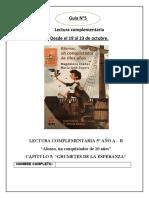 GUIA CAPÍTULO N° 5 LECTURA COMPLEMENTARIA Alonso, un conquistador de 10 años  19 al 23 de octubre 2020