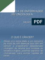 Aula - Assistencia de Enfermagem em Oncologia