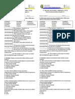 New Normal Oral COM 1ST quarter summative test 2020-2021