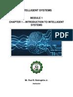 Module 1 - Intelligent Systems