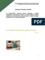 Tema 4. Celador, Paciente y Familia.