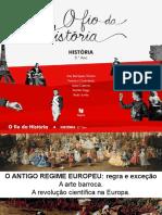 A arte barroca e a revolução científica na Europa