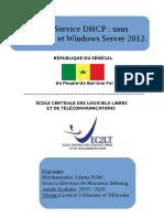 Rapport du service DHCP de M kebe