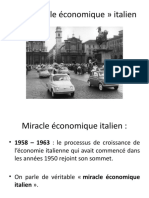 Miracle économique italien