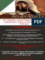 Atos dos apóstolos  - Aula 27 - A missão de Antioquia e a plena incorporação dos gentios - A Segunda Viagem Missionária(Atos 15_36–18_23)