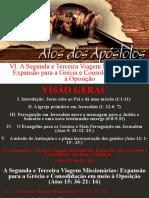 Atos dos apóstolos  - Aula 28 - A missão de Antioquia e a plena incorporação dos gentios - A Terceira Viagem Missionária