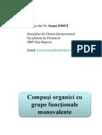 Ioana Ionut - Curs 2 - Compusi cu functiuni monovalente.ppt