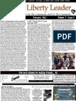 Liberty Leader Newspaper Feb 2011