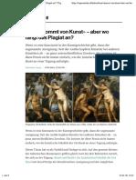 «Kunst kommt von Kunst» – aber wo fängt das Plagiat an? | TagesWoche