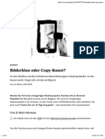 Bilderklau oder Copy-Kunst? – Republik