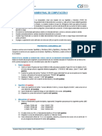 EXAMEN FINAL DE SEGUNDA UNIDAD - COMPUTACION II