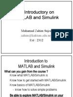 MatlabSimulinkTutorial