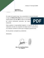 Carta Renuncia Ivan