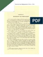 Derecho Civil II. Concepto de las Obligaciones