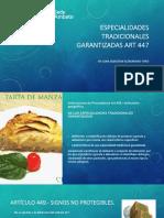 especialidades tradicionales garantizadas art-447