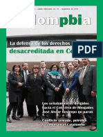 La defensa de los DDHH desacreditada en Colombia - Boletin 16 Colompbia.pdf