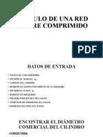 CÁLCULO DE UNA RED DE AIRE COMPRIMIDO