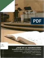 Birch, Moreno & López - Qué es la adoración