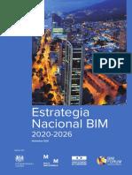 Estrategia Nacional BIM 2020-2026 Colombia