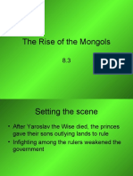 The Rise of the Mongols