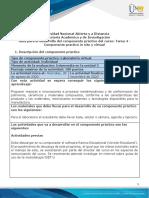 Guía para el desarrollo del componente práctico - Tarea 4 - Componente practico vir