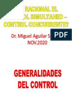 Es Racional El Control Simultaneo - Control Concurrente NOV.2020 - Dr. Miguel Aguilar