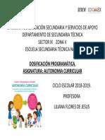 DIRECCIÒN DE EDUCACIÓN SECUNDARIA Y SERVICIOS DE APOYO