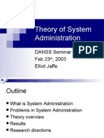 Danss - Theory of SysAdmin