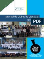 Manual de Clubes de Ciencia y Tecnología Concytec