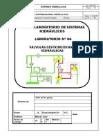 L06. Válvulas Distribuidoras Hidráulicas - 2020