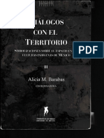 Barabas Alicia. Diálogos con el territorio. Simbolizaciones sobre el espacio en las culturas indígenas de México_