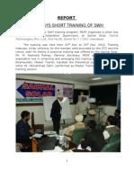 SWH Trainging Report
