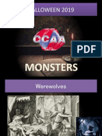 Monsters presentation for CCAA