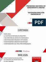 Exposición Vivienda EMERGENCIAS-Ing. Alejandro Caceres