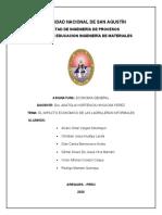 INPACTO ECONOMICO DE LAS LADRILLERAS INFORMALES(1)