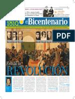 Diario Del Bicentenario 1810 - 1909