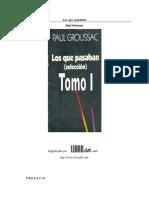 Groussac Francois Paul - Los que pasaban
