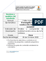 1 Taller ERE Once 4 periodo 2020