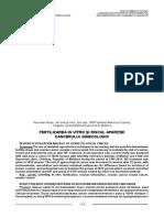 Fertilizarea in vitro si riscul aparitiei cancerului ginecologic