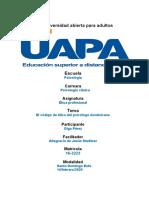 Tarea 7 Etica Profesional Del Psicologo