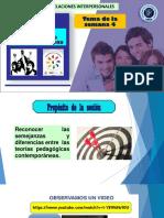 PPT 04 PEDAGOGIA DE LA LIBERACION  Y LA ALTERIDAD EN LAS RELACIONES  INTERPERSONALES