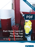PSC - How to avoid top 10 detentions