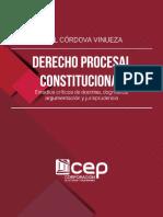 Derecho Procesal Constitucional_ Estudios - Cordova Vinueza, Holger Paul;