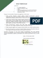 Rara Surat Pernyataan 5poin