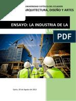 La Construccion en El Ecuador