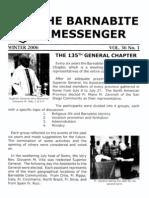 The Barnabite Messenger Vol.36  - Winter2006