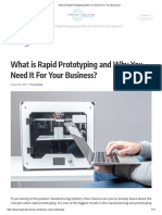What is Rapid Prototyping & Why You Need It for Your Business