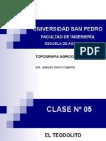 CLASE 05 -  EL TEODOLITO(1)