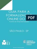 Guia Formalização MEI - Portal do Empreendedor